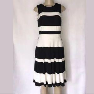Lauren Ralph Lauren dress size 8 beige and black